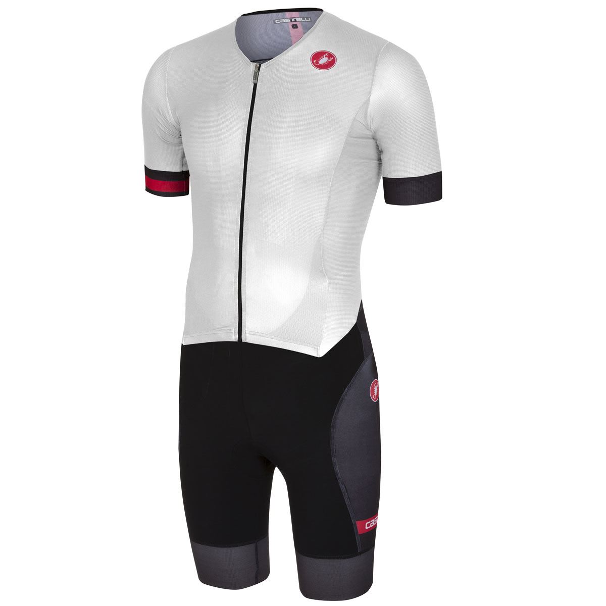 Men Body Castelli Free Sanremo Suit White