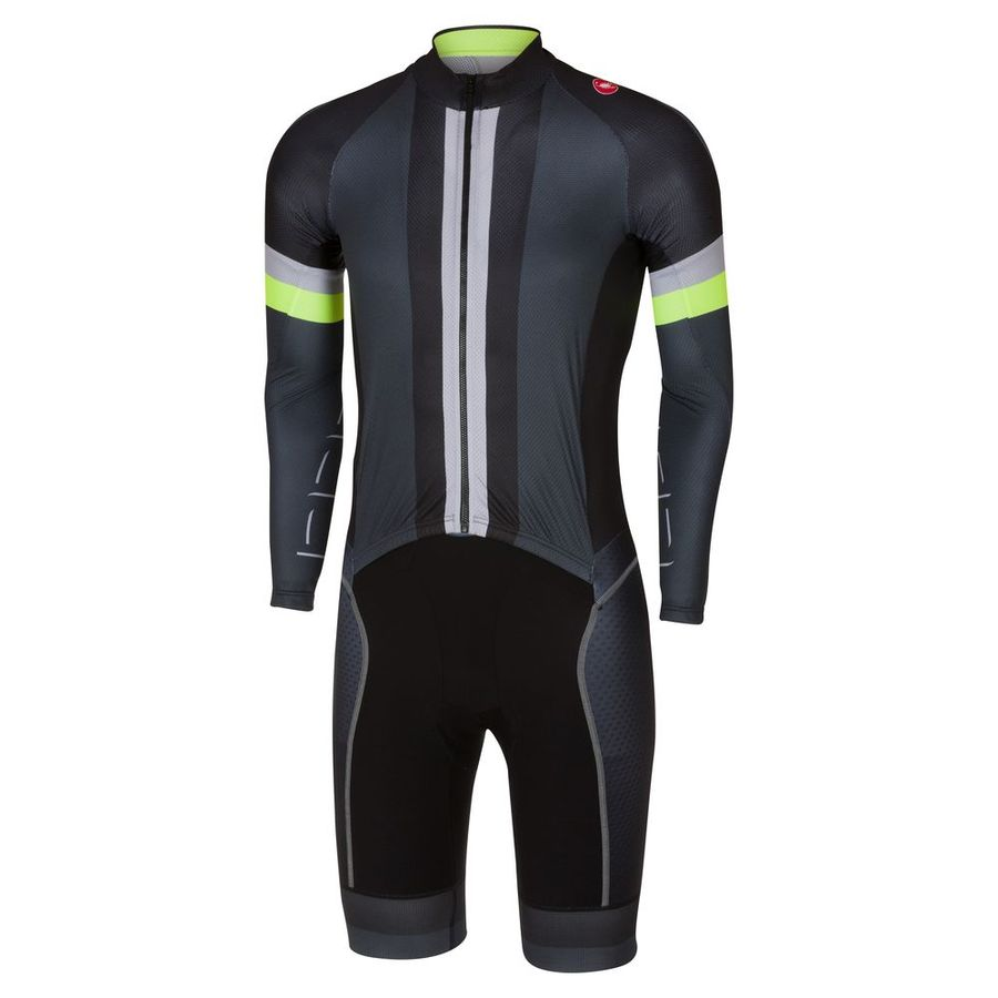 Men Body CX Sanremo Speedsuit Castelli Anthracite