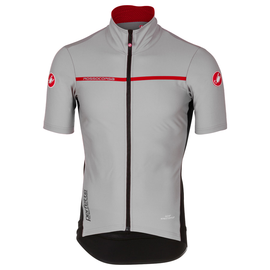 2017 Castelli Perfetto Light 2 Jersey Grey Men