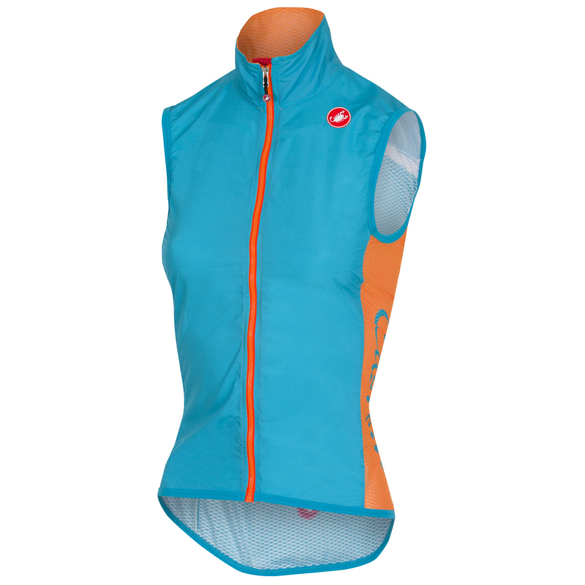 Women Castelli Pro Light Wind gilet Light blue