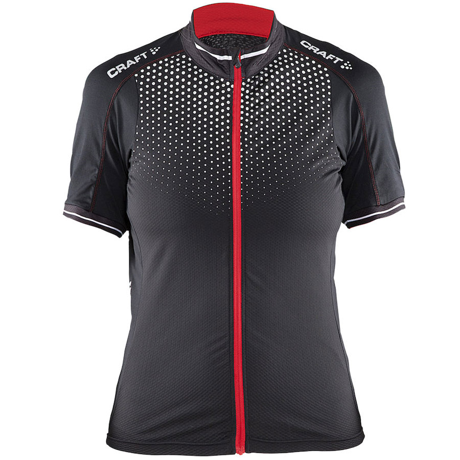 Women Craft Glow Lady Jersey Black Red
