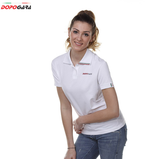 Women Dopogara Polo White
