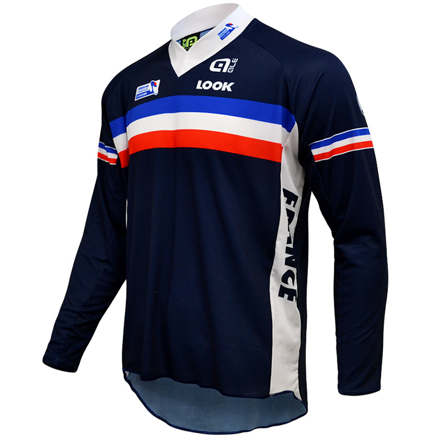 French National BMX 15 L/S jersey