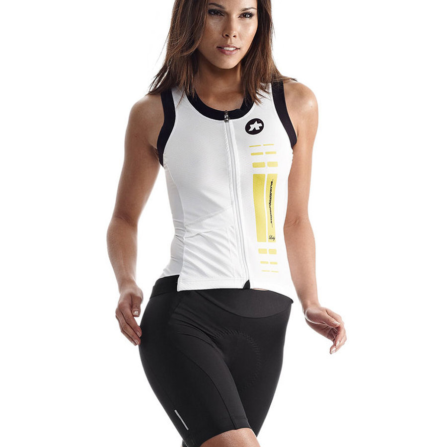 Women Jersey S/L Assos Superleggera Yellow