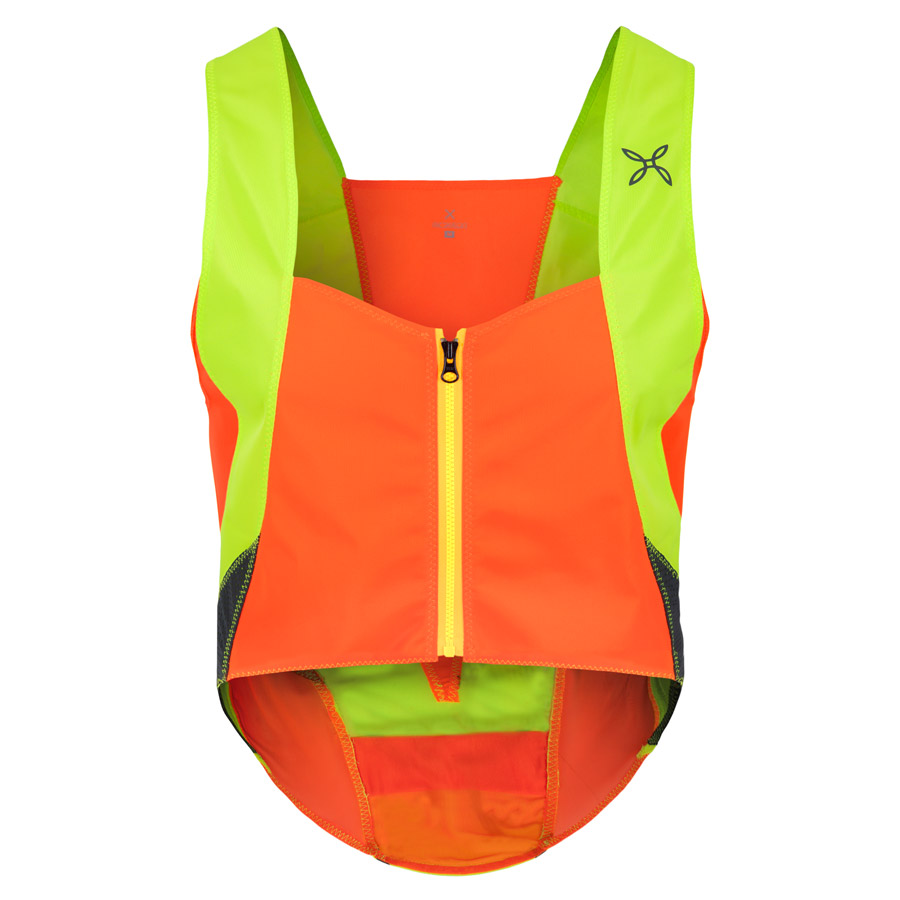 Men Montura Keep Safe Vest Orange Yellow