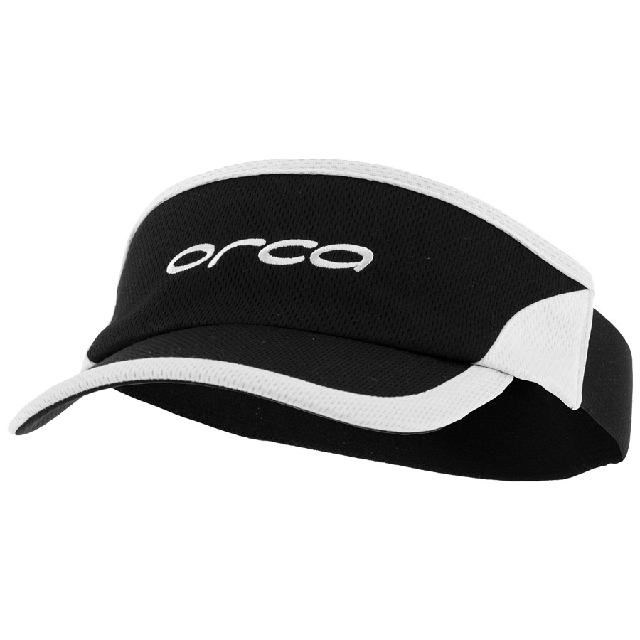 Men Orca Flexible Visor Black White