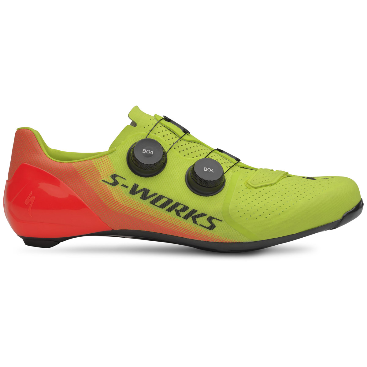 Specialized S-Works 7 Ltd shoes Hyper green acid lava