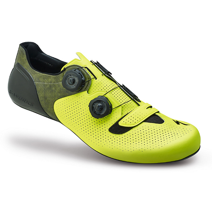 Specialized S-Works 6 Road Shoes Neon Yellow