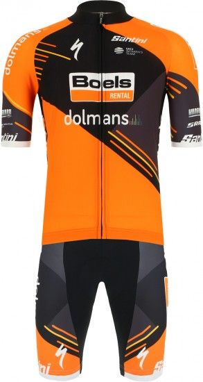 2019 Boels Dolmans Cyclingteam Set (Jersey + Bib Shorts)