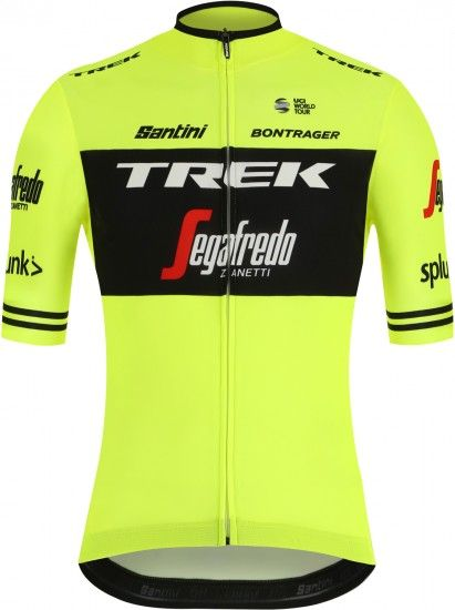 2019 Trek - Segafredo Training Edition Short Sleeve Cycling Jersey (Long Zip)